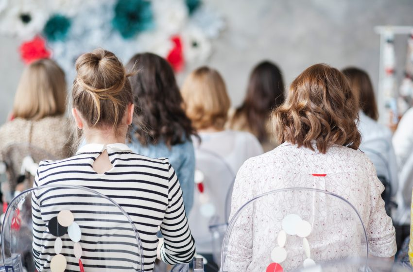 Why events for women help to build up a career?